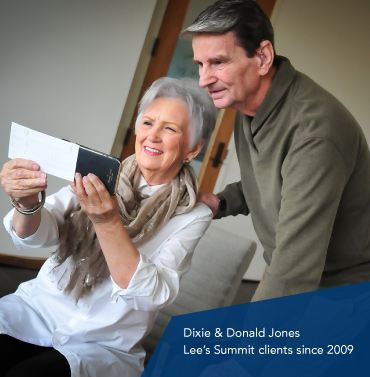 Dixie and Donald Jones, Lead Bank Lee
