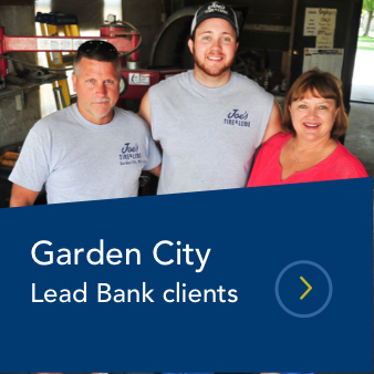 garden city lead bank clients