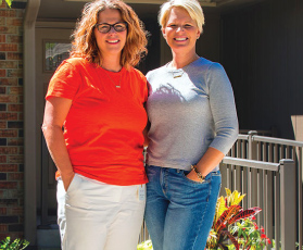 The founders of Prairie Elder Care, Lead bank Kansas City community clients